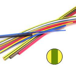 3M GTI-3000 6/2 Желто-зеленая Тонкостенная ТУ трубка, 3:1, 1 м арт. 7000099249