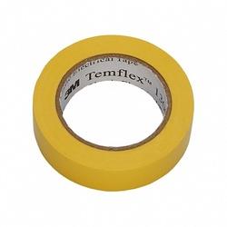 3M Temflex 1300 Изоляционная лента универсальная, 15мм х 10м, желтая арт. 7000062611