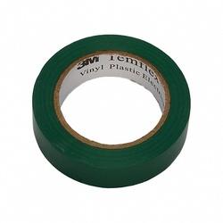 3M Temflex 1300 Изоляционная лента универсальная 15мм х 10м, зеленая арт. 7000062612