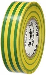 3M Temflex 1500 Желто-зеленая Изолента 25мx19мм арт. 7000062306