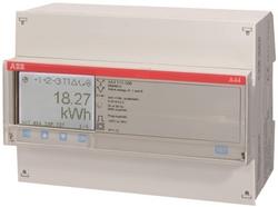 ABB A44 311-200 Счетчик 3-ф.(2Н),4-т.б/тарифик.,кл.т.1,трансф.вкл. 1(6)А, 2 вх/вых арт. 2CMA100125R1000