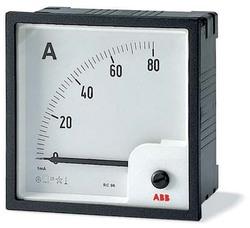 ABB AMT Амперметр постоянного тока без шкалы AMT2-A2/96,вкл. через шунт 60 мВ арт. 16075068