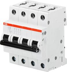 ABB Автомат.выкл-ль 4-полюсной S204M D10 арт. 2CDS274001R0101