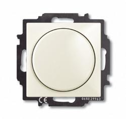 ABB BJB Basic 55 Беж Светорегулятор поворотно-нажимной 60-400 Вт для л/н арт. 6515-0-0843