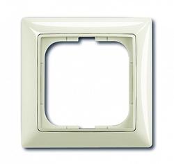 ABB BJB Basic 55 Шале (бел) Рамка 1-ая арт. 1725-0-1511