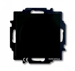 ABB BJB Basic 55 Шато (чёрн) Светорегулятор поворотно-нажимной 60-400 Вт для л/н арт. 6515-0-0846