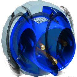 ABB BU Вилка панельная с прямым фланцем 2125BU6W, 125A, 2P+E, IP67, 6ч арт. 2CMA167195R1000