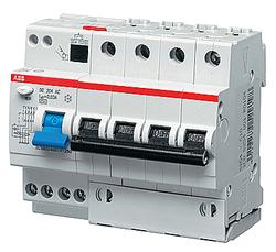 ABB DS204 M Дифференциальный автоматический выключатель 6 мод. AC-B20/0,03 арт. 2CSR274001R1205