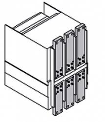 ABB Emax2 Комплект силовых выводов фиксированной части F на верхние выводы E6.2 W FP 4p/f 4шт арт. 1SDA074114R1
