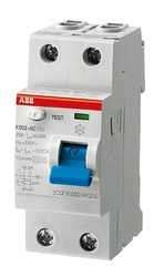 ABB F202AC УЗО 2Р 80A 300mA (AC) арт. 2CSF202001R3800