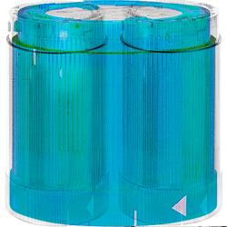 ABB KL7 Сигнальная лампа KL70-401L синяя постоянного свечения 12-240В AC/DC (лампочка отдельно) арт. 1SFA616070R4014
