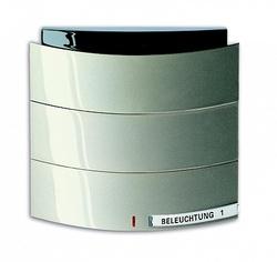 ABB KNX Triton Шампань Сенсор 1/2-кл. с ИК-приемником арт. 6320-0-0006