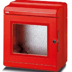 ABB Livorno бокс авар.настенный 8М красн. IP65 арт. 13171
