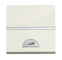 ABB NIE Zenit Бел Светорегулятор нажимной 40-450W для л/н и г/л с обмот. тр-ром, 2 мод арт. N2260 BL