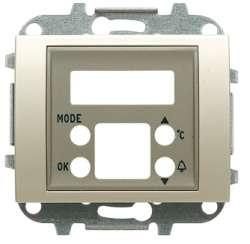 ABB Olas Накладка для механизма электронного будильника-термометра 8149.5, титан арт. 8449.5 TT