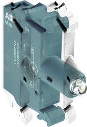 ABB Патрон MLBL-06W со встроенным светодиодом белый 220В DC арт. 1SFA611621R1065