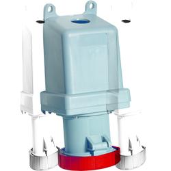 ABB RS Розетка для монтажа на поверхность 363RS1W, 63A, 3P+E, IP67, 1ч арт. 2CMA167324R1000