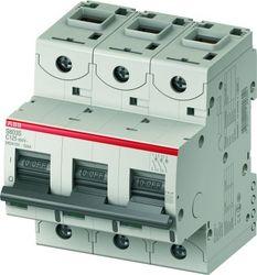 ABB S803C Автоматический выключатель 3P 10A (С) 25кА (4.5 мод.) арт. 2CCS883001R0104
