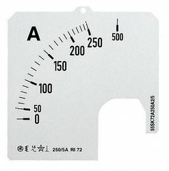 ABB SCL Шкала для амперметра SCL-A5-150/72 арт. 16082767