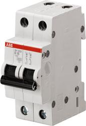 ABB SH202L Автоматический выключатель 2P 25А (С) 4,5kA арт. 2CDS242001R0254