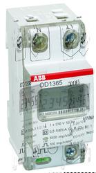 ABB Счетчик 1 фазный прямого включения 1-тарифный, кл.точности 1, 5-65 А арт. 2CMA131042R1000