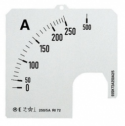 ABB Шкала для амперметра SCL 1/600A A1 арт. 2CSM110309R1041