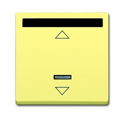 ABB Solo/future ИК-приёмник с маркировкой для 6953 U, 6411 U, 6411 U/S, 6550 U-10x, 6402 U, sahara/жёлтый арт. 6020-0-1393
