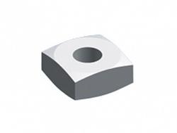 ABB TriLine-R Гайка квадратная 25x25x8 M8 (в упак. 10 шт) арт. ZX232P10
