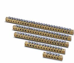 ABB Unibox Клеммная колодка с 15 отв 4.5мм и 6 отв. 5.6мм арт. 12534