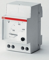 ABB Вольтметр, шкала 500V на DIN-рейку арт. 16070523