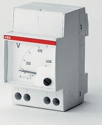 ABB Вольтметр перем.тока VLM 1/300V арт. 16070515
