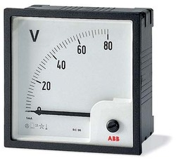 ABB Вольтметр пост.тока прям.вкл. VLM-2-60/96 арт. 16074947