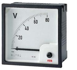 ABB Вольтметр пост.тока прям.вкл. VLM-2-80/72 арт. 16074780