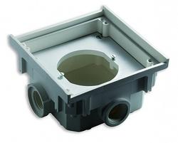 ABL Бокс-адаптер SCHUKO, термопласт, 4 кабельных ввода с резьбой, IP41, ABL арт. 1632500