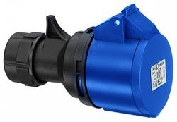 ABL Розетка кабельная 16А, 3Р, 230V IP44 арт. K31S20