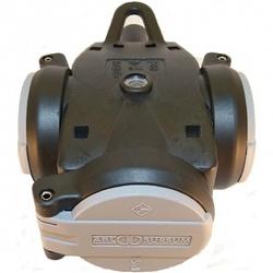 ABL Тройник резина+полиамид, с самозакрыв крышкой и лампочкой-индикат напряж IP54,16A,2P+E,250V с/ч арт. 1173563