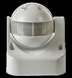 ASD Белый Датчик движения инфракрасный ДД-009-W 1200Вт 180 гр.12м IP44 арт. 4680005959716