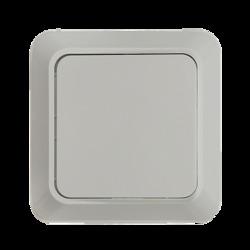 ASD Bolleto Белый Выключатель 1-кл. накладной 7021 арт. 4680005959747