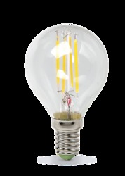 ASD Premium Лампа LED шар 5.0Вт 160-260В Е27 4000К 450Лм прозрачная арт. 4690612004174