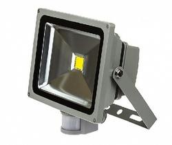 ASD Прожектор LED СДО-2Д-10 10Вт 230В 6500К 700Лм с датчиком движения IP44 арт. 4690612001005