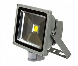 ASD Прожектор LED СДО-2Д-20 20Вт 230В 6500К 1400Лм с датчиком движения IP44 арт. 4690612001012
