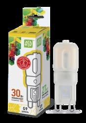 ASD Standard Лампа LED-JCD 3Вт 160-260В G9 3000К 270Лм арт. 4690612003764