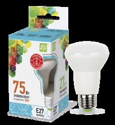 ASD Standard Лампа LED-R63 8Вт 230В Е27 4000К 720Лм арт. 4690612001593