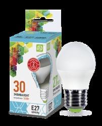ASD Standard Лампа LED шар 3.5Вт 160-260В Е27 4000К 320Лм арт. 4690612002040