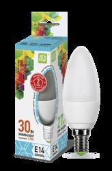 ASD Standard Лампа LED свеча 3.5Вт 160-260В Е14 4000К 320Лм арт. 4690612002057