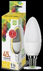 ASD Standard Лампа LED свеча 5Вт 160-260В Е14 3000К 450Лм арт. 4690612002200