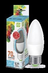 ASD Standard Лампа LED свеча 7.5Вт 230В Е27 4000К 675Лм арт. 4690612003955