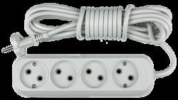 ASD Удлинитель У-4-3, 4 розетки, 3м 8043 арт. 4680005951819