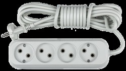 ASD Удлинитель У-4-5, 4 розетки, 5м 8045 арт. 4680005951826