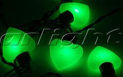 Arlight Гирлянда ARL-HEART-5000-20LED Green (220V, 5W) арт. 019836